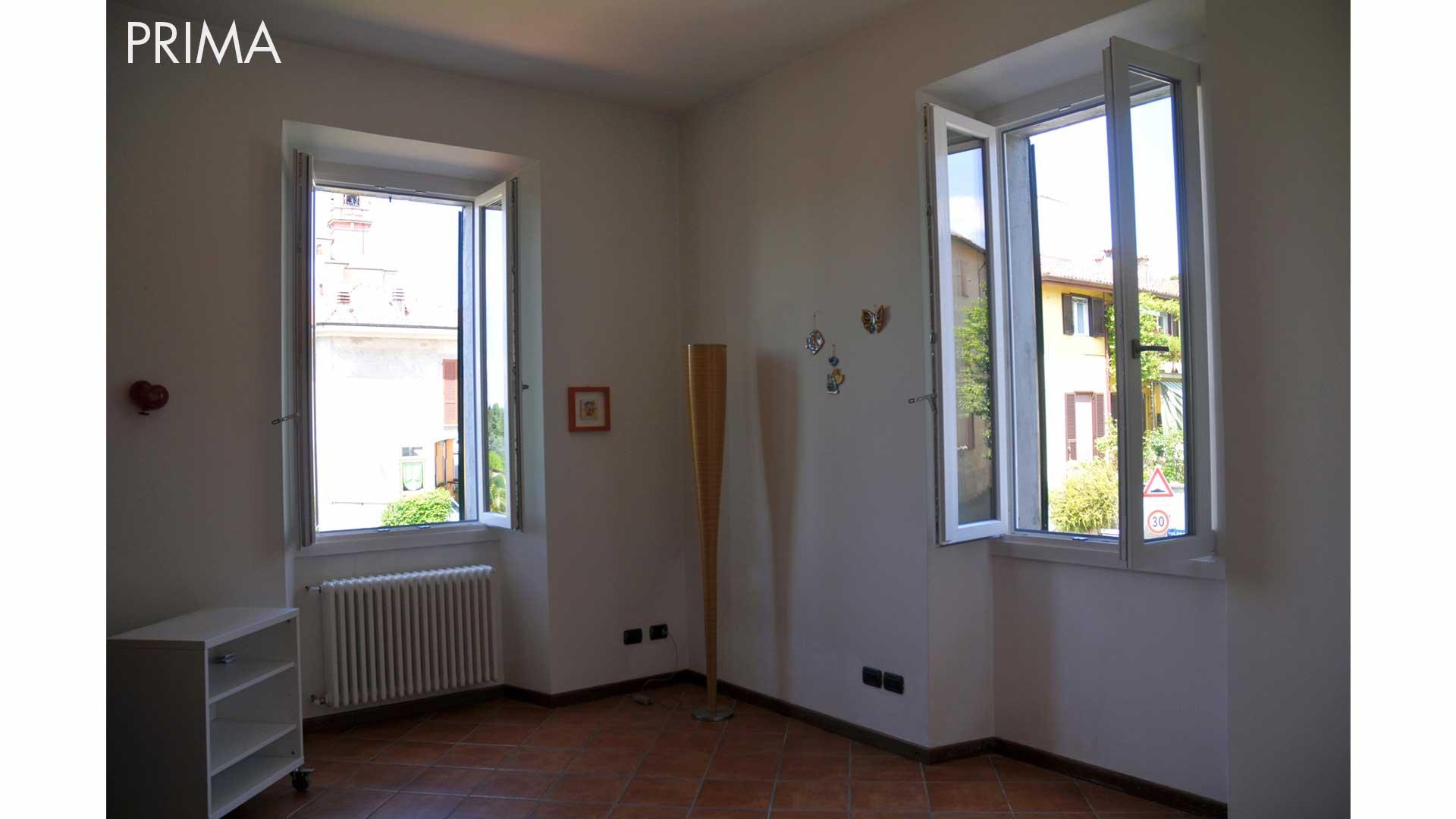 I prima e i dopo: casa abitata. 01. Casa Marisa a Carimate (CO).