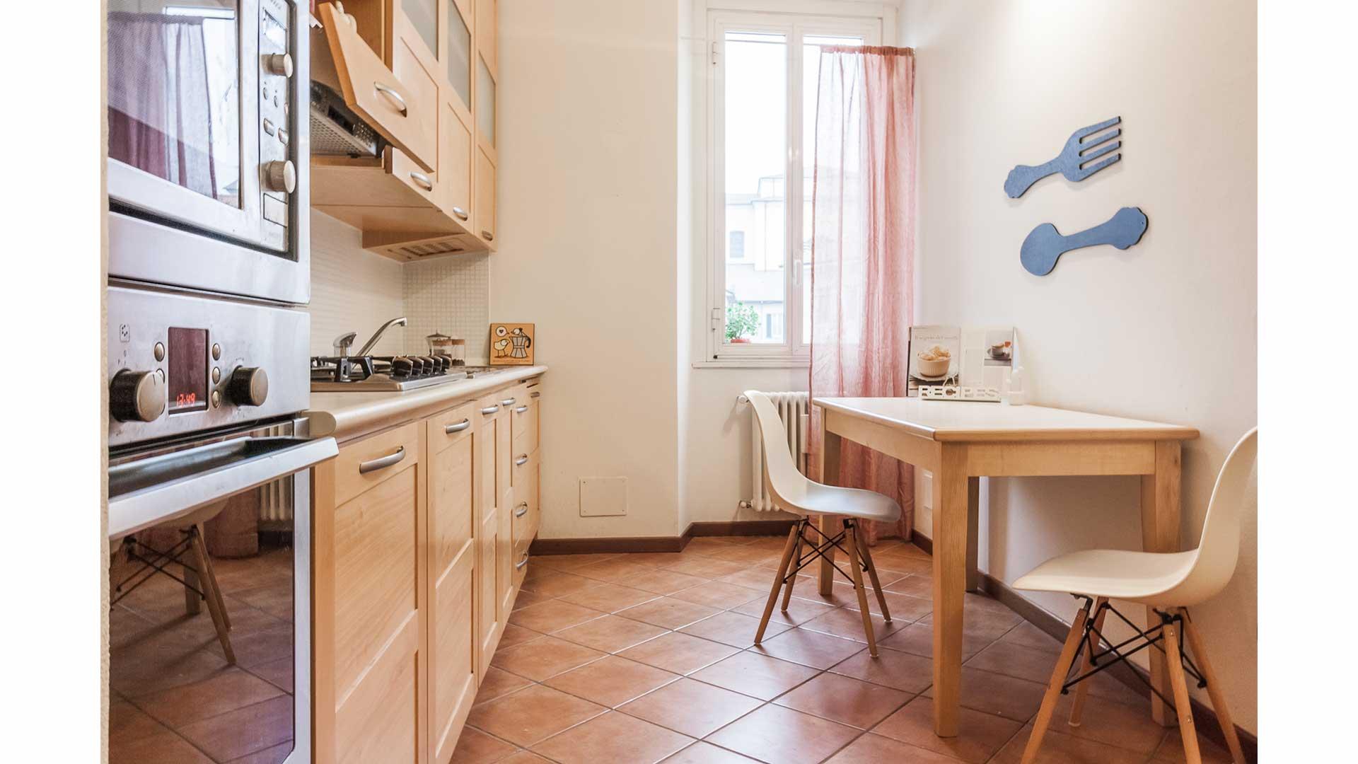 Casa Marisa Home staging in trilocale abitato a Carimate (CO).