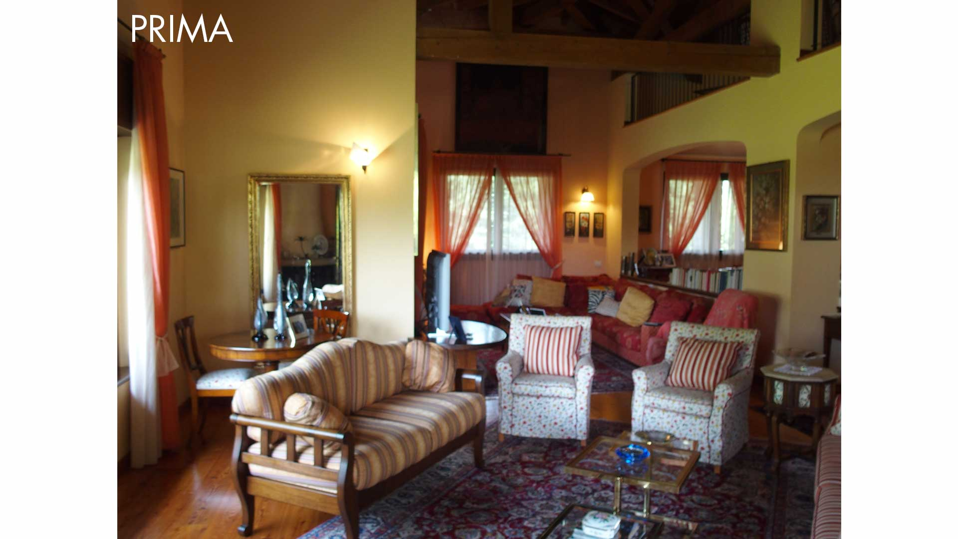 I prima e i dopo: casa abitata. 03. Montorfano (CO).