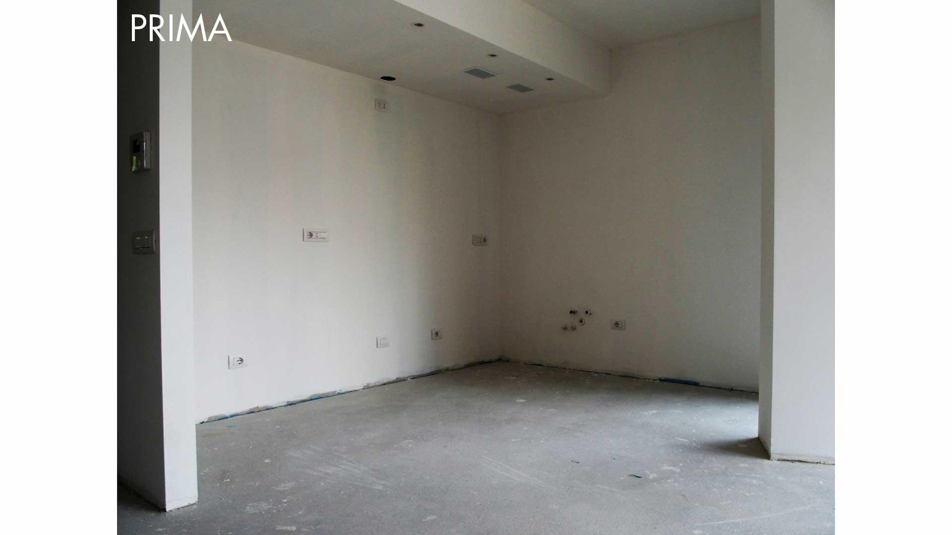 I prima e i dopo: casa vuota. 02. Ronago (CO).