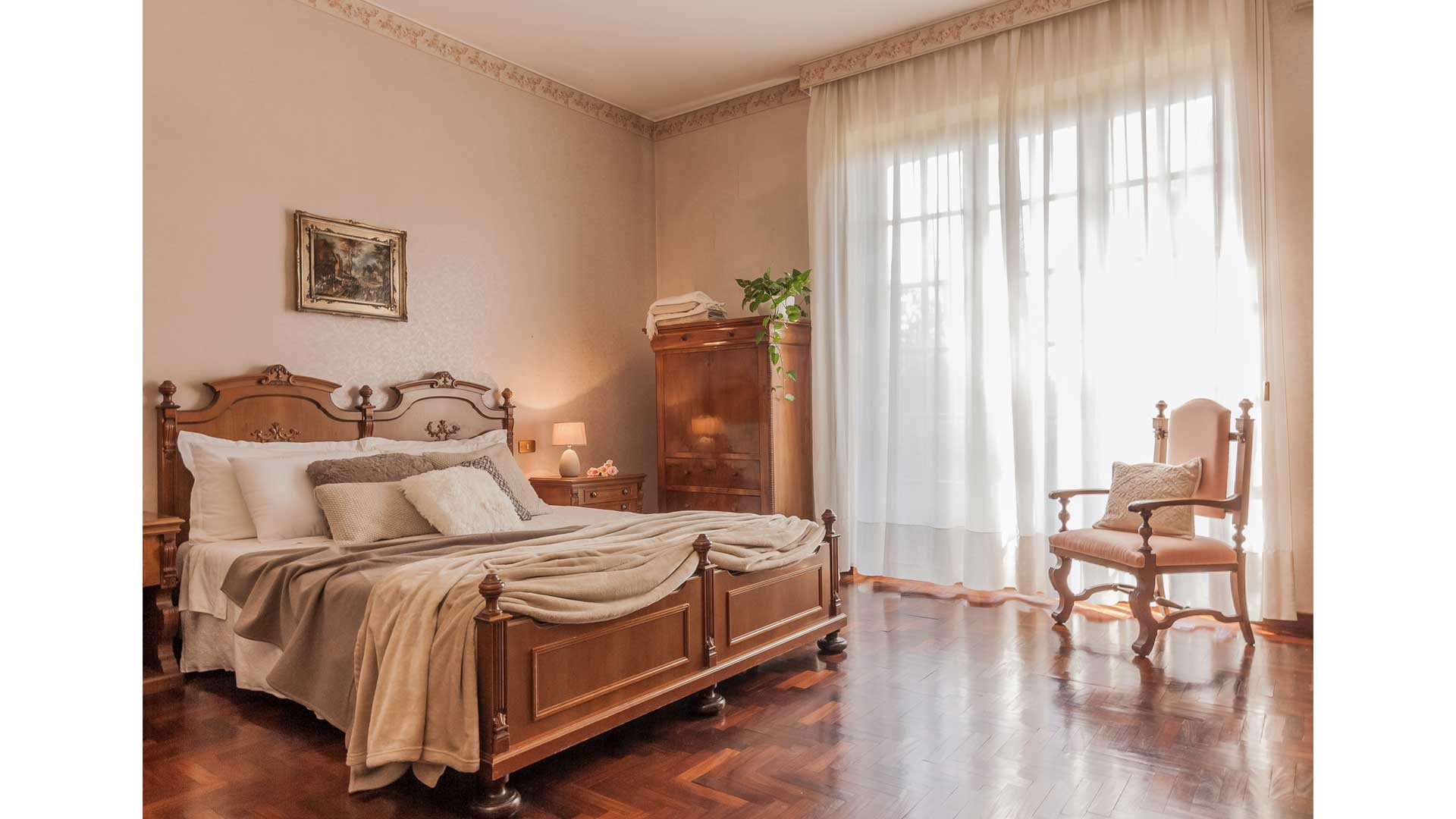 Villa Normande soft home staging ad Appiano Gentile (CO).
